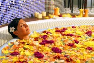 flower-bath